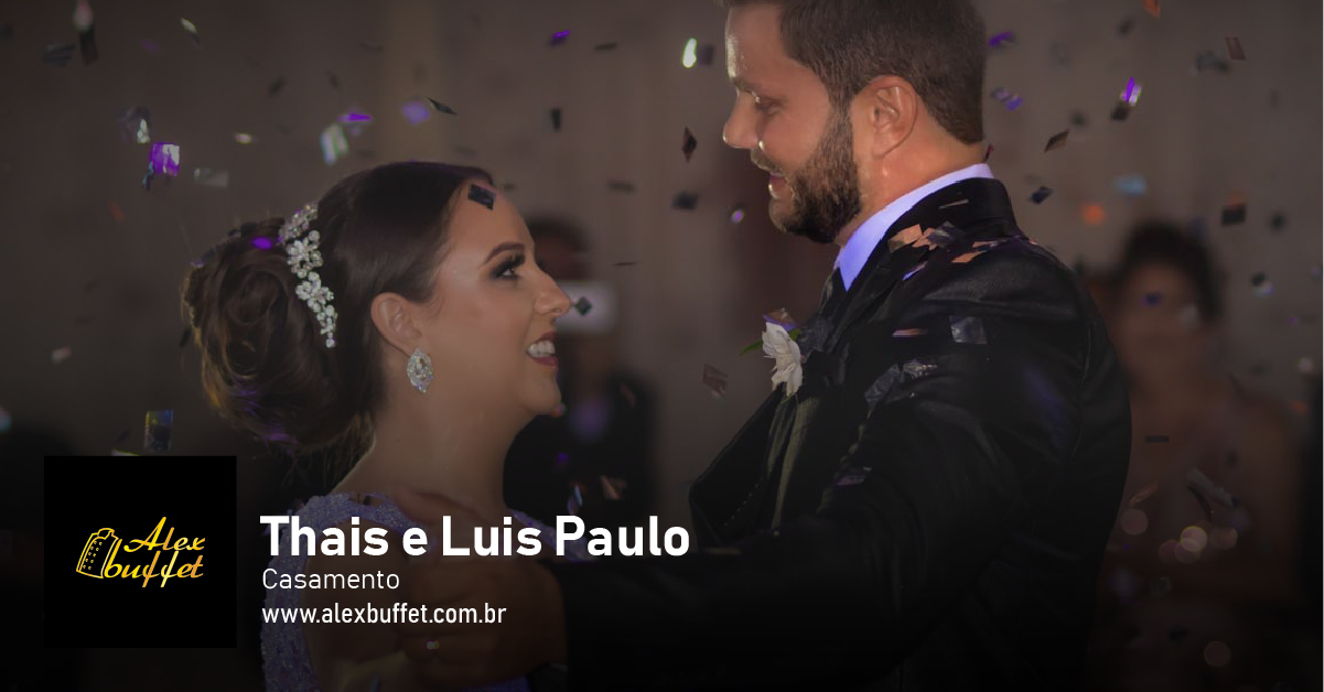 Thais e Luis Paulo