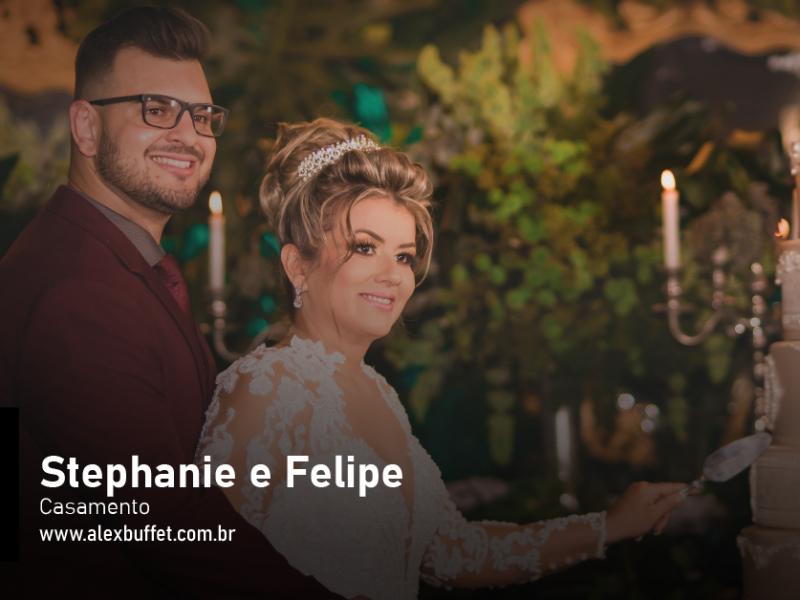 Stephanie e Felipe